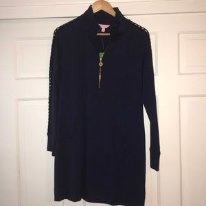 Navy Lilly Pulitzer Dress size Small.